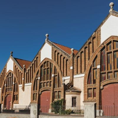 Celler Cooperatiu de l'Espluga de Francolí, fachada de la bodega.