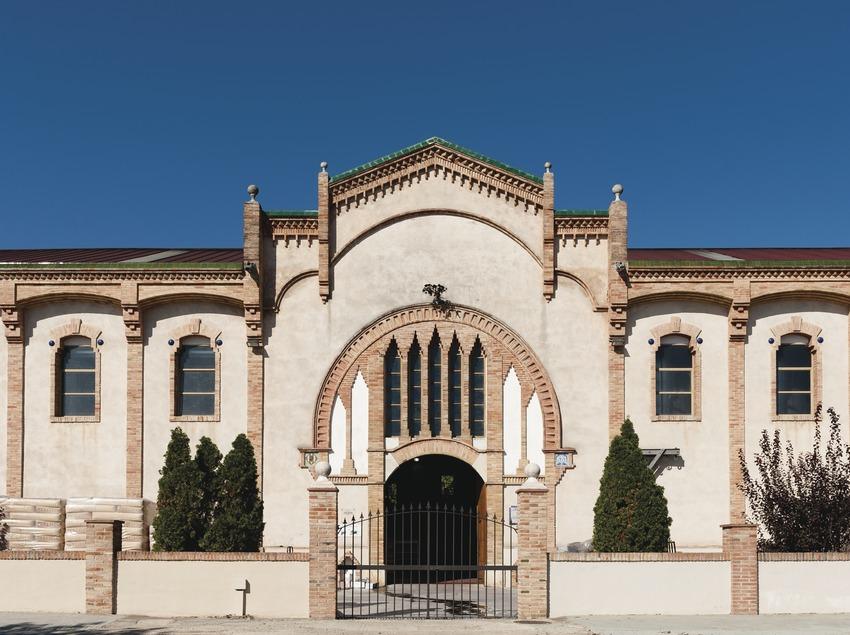 Celler Cooperatiu Vila-rodona, façana del celler.