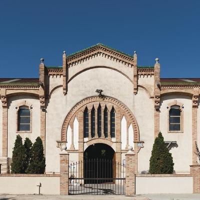 Celler Cooperatiu Vila-rodona, fachada de la bodega. (Marc Castellet)
