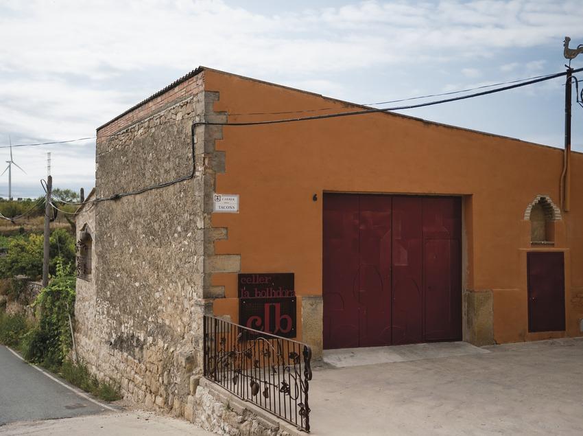 Celler la Bollidora, façana del celler. (Marc Castellet)