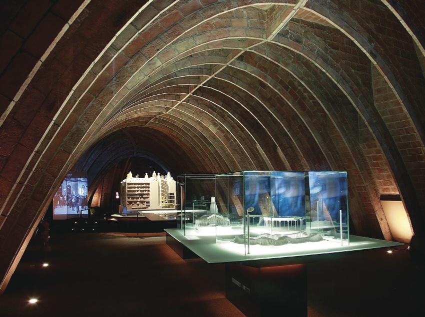 Espacio Gaudí, en el desván de la Casa Milà, La Pedrera.