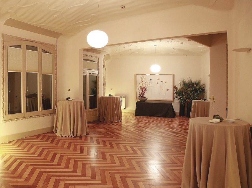 Sala-Passeig de Gracia Primer pis, La Pedrera