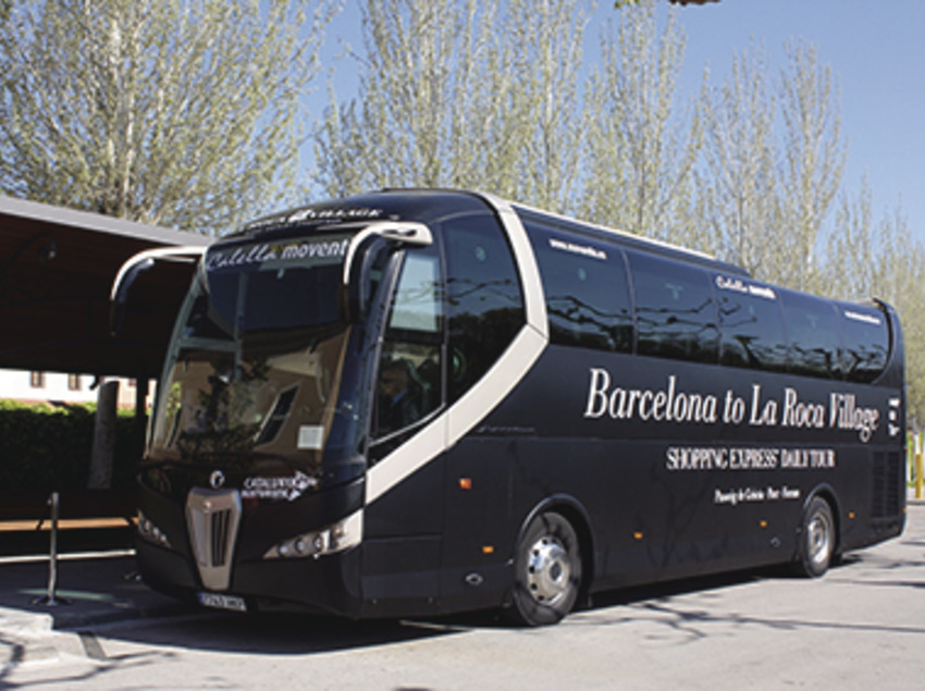 La Roca Village Shopping Express® - Tour d'un dia en bus