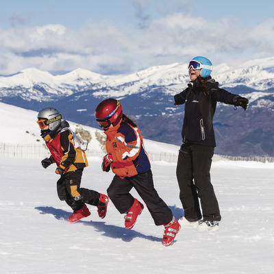 Skiing in nice weather?