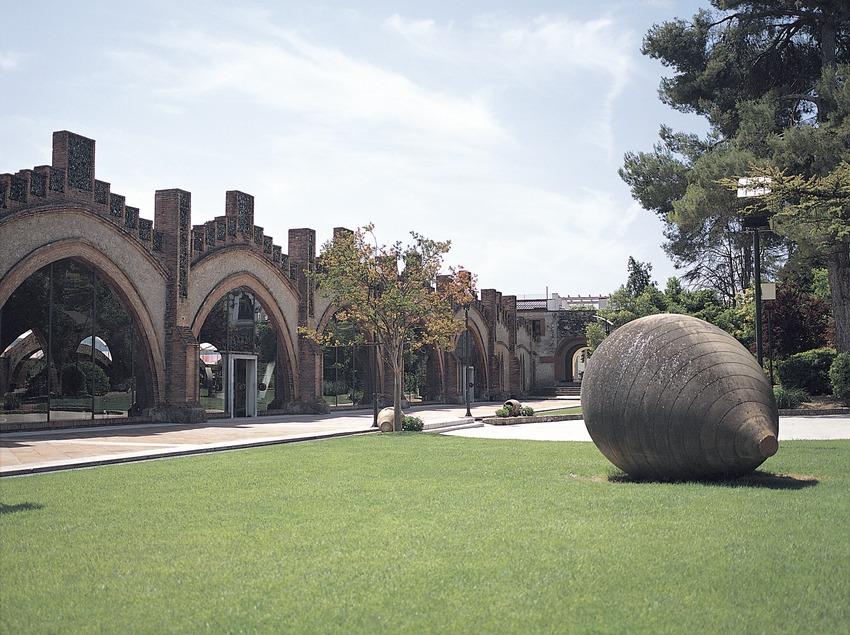 Jardines de las cavas Codorniu  (Felipe J. Alcoceba)