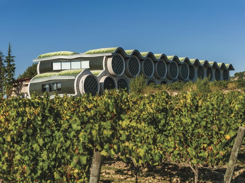 Hotel Mas Tinell. Vista de l'hotel des de les vinyes   (Marc Castellet)