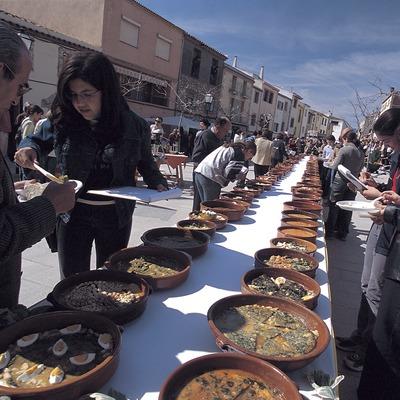 Fiesta de la Tortilla con salsa en Ulldemolins.