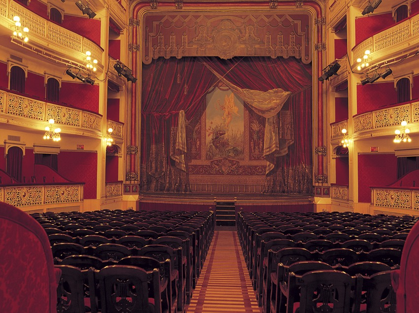 Interior del teatre Fortuny de Reus.