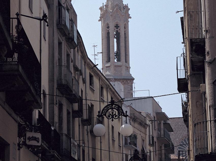 Calle del centro de Valls.   (Ramon Manent)