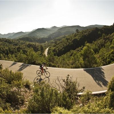 La serra de Llaberia està situada entre les muntanyes de Prades i les de Tivissa-Vandellòs. © Andoni Epelde (Pedalier)