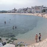 Playa de Sant Pol de Mar.