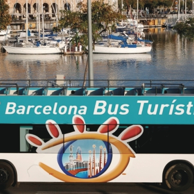 """Экскурсионный автобус """"Барселону Бус Туристик"""""""
