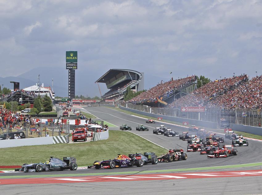 L'emoció de les curses de Fórmula 1. (Circuit de Barcelona-Catalunya, Montmeló)