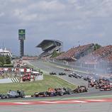 <div>L'emoció de les curses de Fórmula 1. (Circuit de Barcelona-Catalunya, Montmeló)</div>
