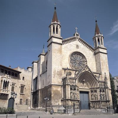 Façana de la basílica de Santa Maria  (Felipe J. Alcoceba)