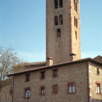 El Campanar de Santa Maria de Seva. (Fundació Turística Santa Susanna)