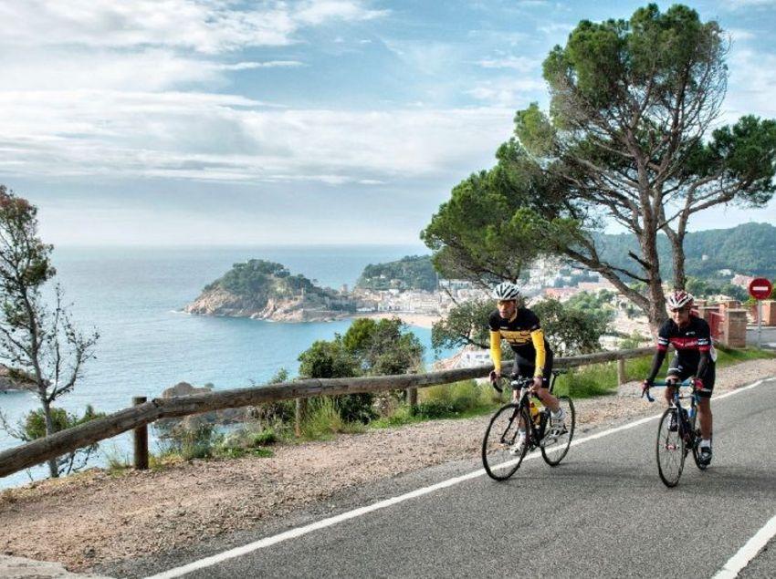 Les millors vistes des de la carretera vora el mar. (Fundació Turística Santa Susanna)