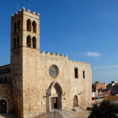 L'església parroquial de Santa Maria de Blanes d'estil gòtic.(Oficina Municipal de Turisme de Blanes)