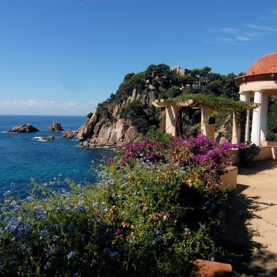 El jardí botànic Mar i Murtra de Blanes ofereix unes vistes espectaculars.(Oficina Municipal de Turisme de Blanes)