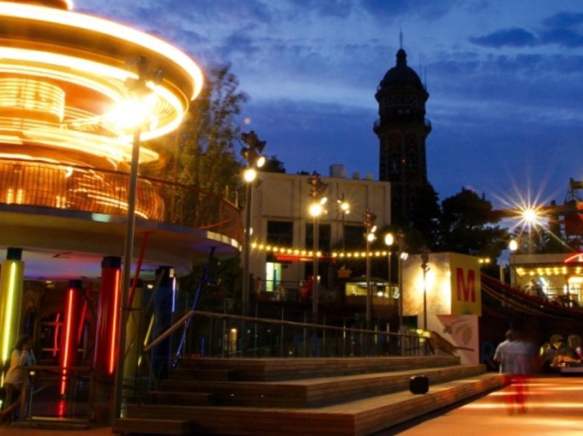 Tibidabo - escapada amb nens al parc d'atraccions