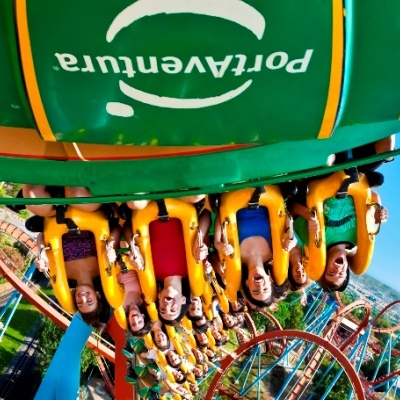 PortAventura by bus from Barcelona