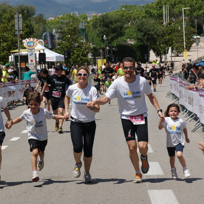 The Family Run: cursa en família a Barcelona. (Kaptiva Sports - Spain Soccer Tours)