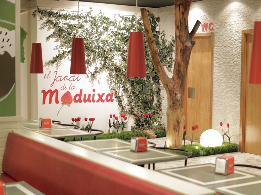 Menjador del restaurant   (La Maduixa)