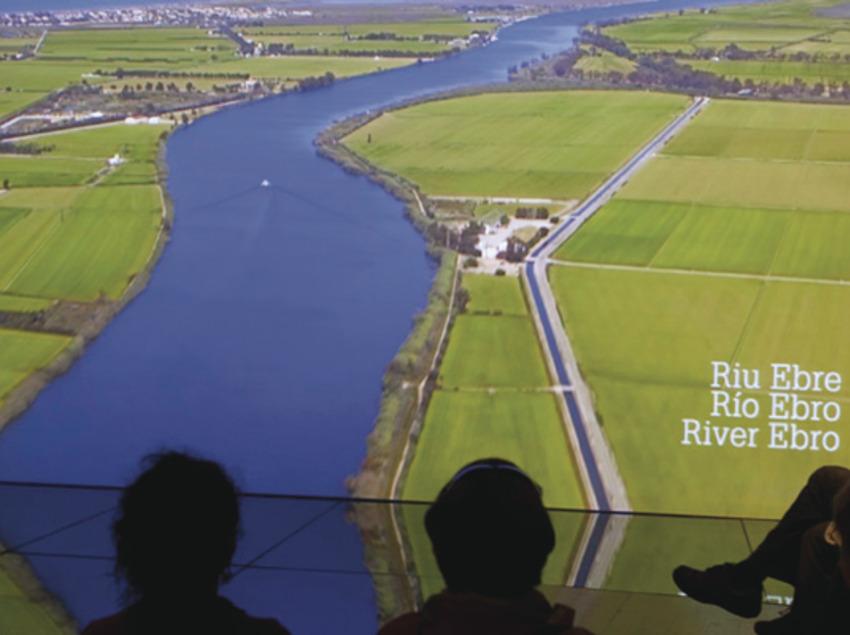 Audiovisual sobre el riu Ebre. (Fundació Catalunya-La Pedrera)