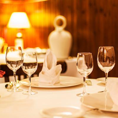Detall d'una taula del restaurant   (Cafè 1907 Restaurant)