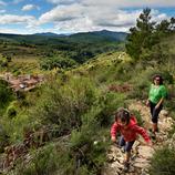 Un día en familia en las montañas de Prades