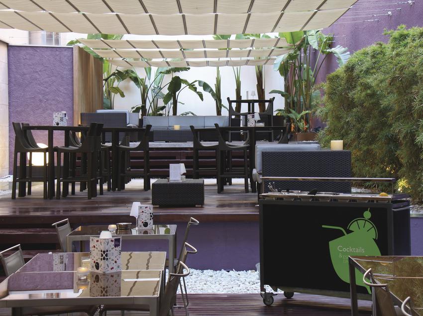 Terrassa de l'hotel   (Hotel Barcelona Catedral)