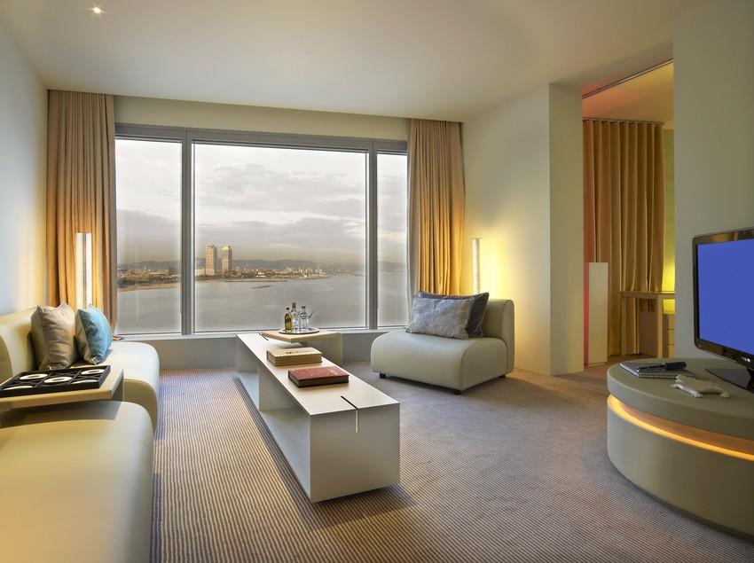 Sala Cool Corner Suite   (W Barcelona)