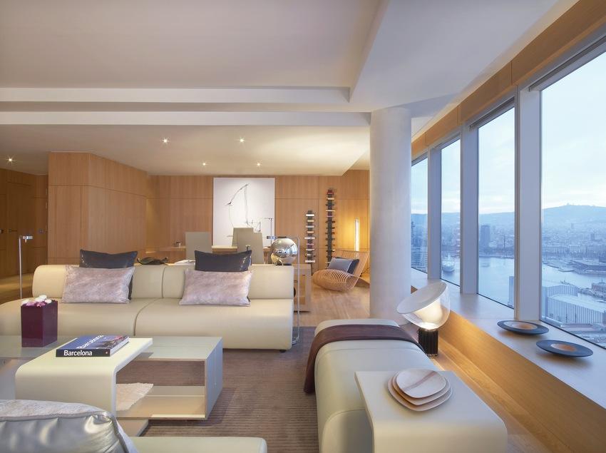 Sala de estar Suite Extreme WOW   (W Barcelona)