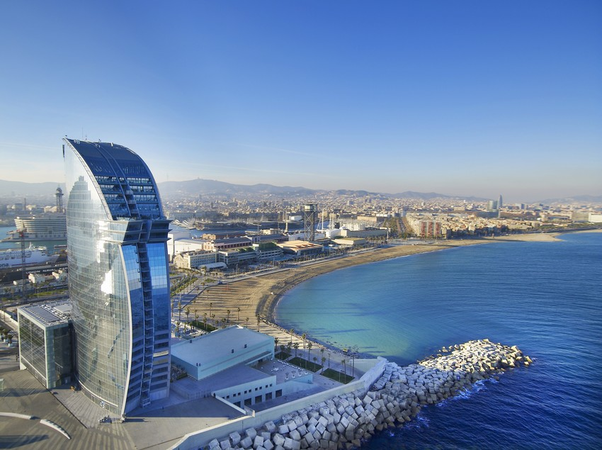 Vista aèria de l'hotel   (W Barcelona)