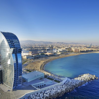 Vista aérea del hotel   (W Barcelona)
