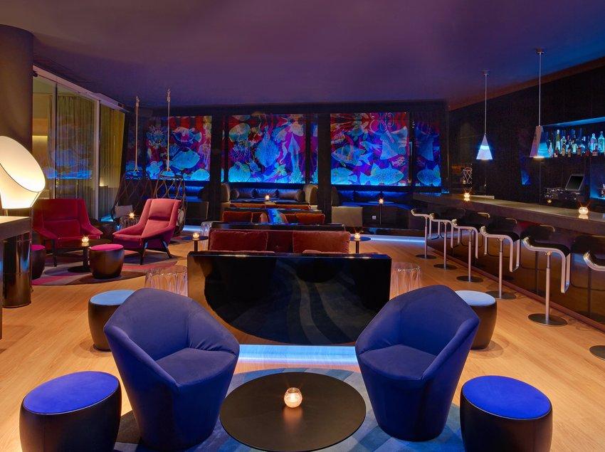 Area VIP del W lounge   (W Barcelona)