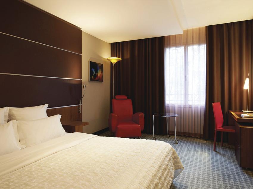 Habitación del hotel   (Le Méridien Barcelona)