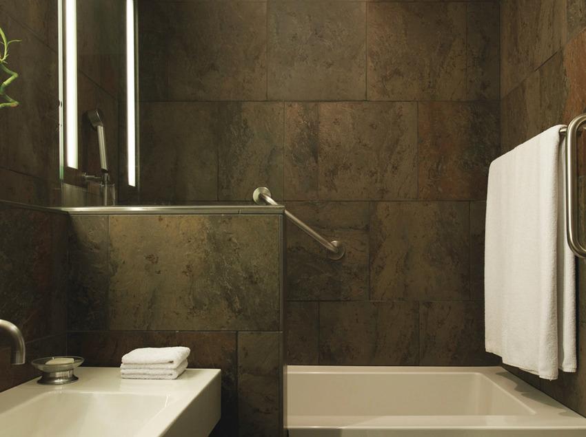 Baño de habitación Deluxe   (Le Méridien Barcelona)