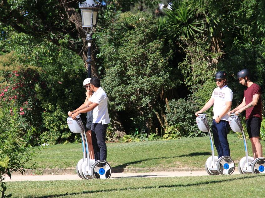 Tour en Segway pel parc de la Ciutadella   (GlideBCN)