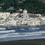 Fachada litoral y paseo marítimo de El Port de la Selva  (Servicios Editorials Georama)