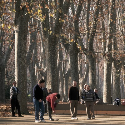 Park der Devesa, Girona.  (Servicios Editorials Georama)