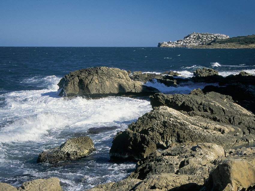 Küste von L'Escala, in der Nähe von Sant Martí d'Empúries.