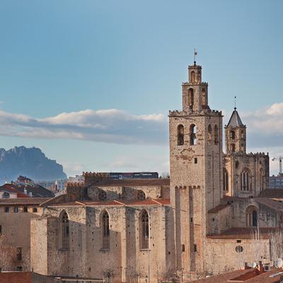 Campanario del monasterio de Sant Cugat     (Mané Espinosa)