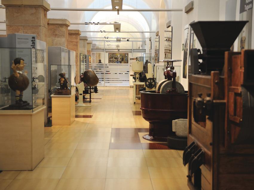 Interior del museo del chocolate     (Museu de la Xocolata)