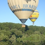 Ballooning over Costa Brava