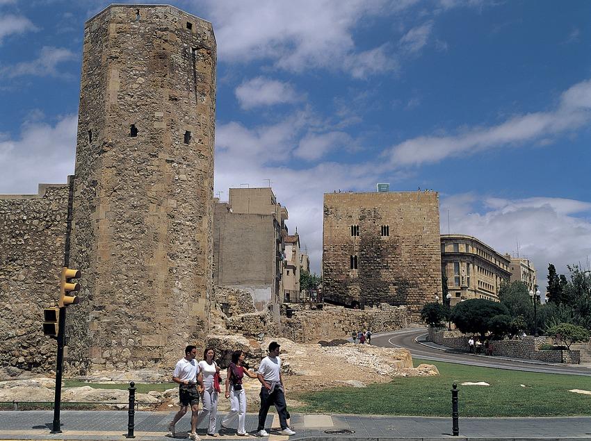 Edificio del Pretorio y Museo Nacional Arqueológico de Tarragona.  (Felipe J. Alcoceba)