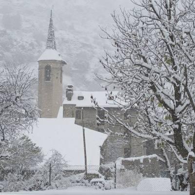 Iglésia parroquial Sant Vicenç d'Esterri d'Àneu     (Consorci Turisme Valls d'Aneu)