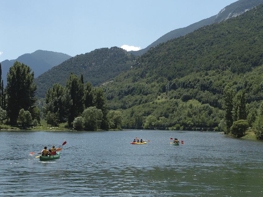 Lago de la Torrassa.    (Consorci Turisme Valls d'Àneu)