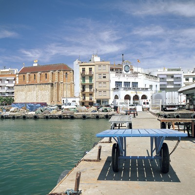 Port de Tarragona al barri del Serrallo.  (Felipe J. Alcoceba)