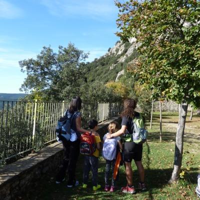 Serra de Queralt_caminada amb nens     (DTF Berga)